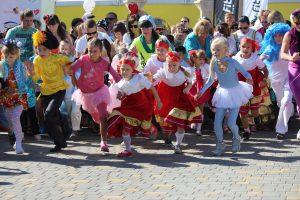 Благотворительный забег Спорт во благо в Волгограде